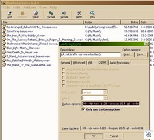 razorlame2 thumb RazorLame   freeware lets you create super quality MP3 files from WAV with one click