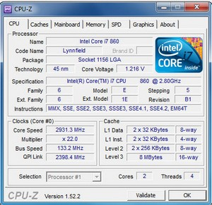 cpuz small CPU Z    freeware lets you check every molecule of your computer
