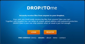 dropittome small Dropitto.me   free upload service makes it super easy for people to send you files