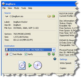 imgburn ImgBurn   freeware lets you create CD/DVDs and beyond at a stroke