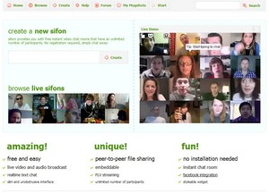 sifonr small Sifonr   instant free video chat rooms for all