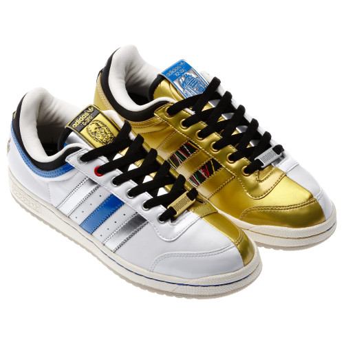 Adidas hurts my eyes with these Star Wars Top Ten Low Droid Shoes