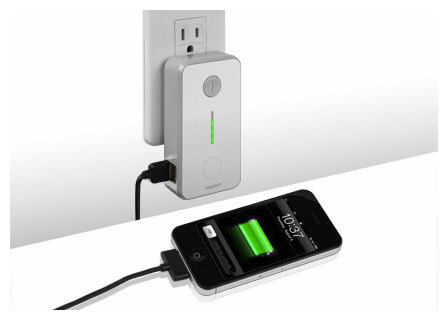 Green Wall USB Charger uses timer to curb energy waste