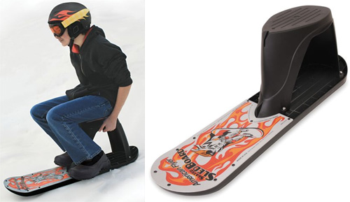 Seated Snowboard gives you the best of both worlds