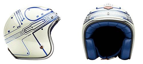 TRON helmet won't make you as cool as TRON Guy
