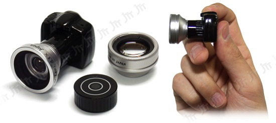 Micro DSLR With Interchangeable Lenses