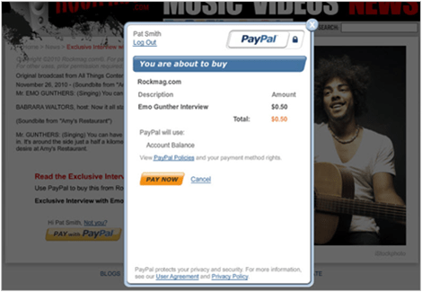 �Paypal for digital goods� gives online publishers a better way to sell their wares