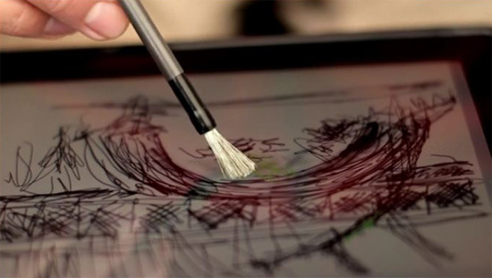 Paintbrush for the iPad