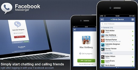 Facebook Messenger iPhone App