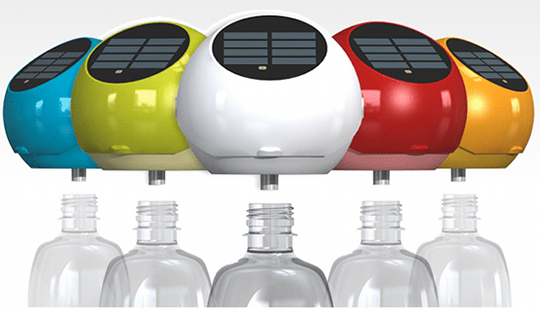 Plastic Bottle LED Light puts those old bottles to use