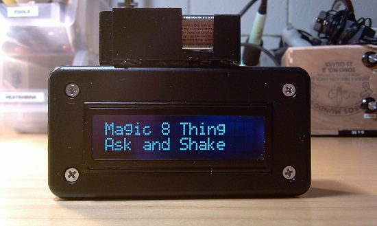 Magic 8 Thing is a DIY update to an old favorite