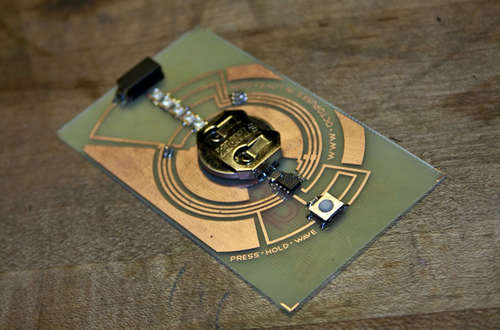 Persistence Of Vision business card