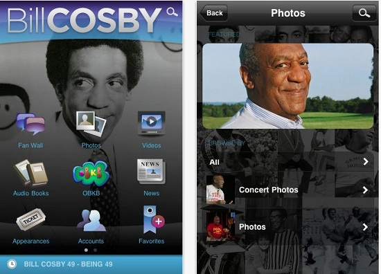 Bill Cosby gets his own mobile app
