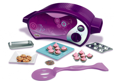 "Easy-Bake Oven goes ""Ultimate"" and ditches the bulb in favor of a heating element"