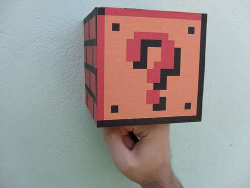 DIY Coin Block is perfect for Mario lovers