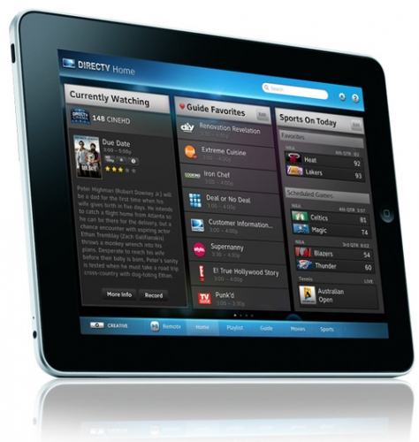 DirecTV iPad app lets you control your DVR from anywhere