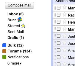 Google Smart Labels help sort your inbox