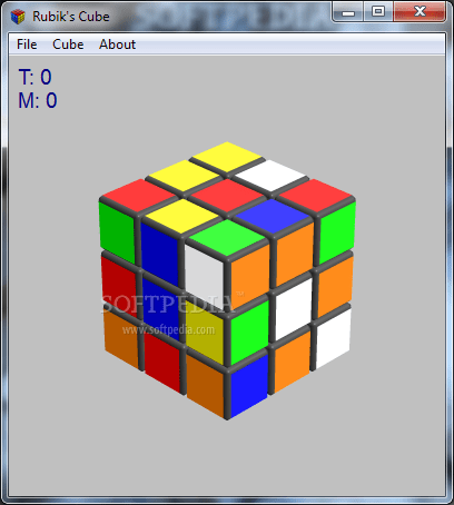 Want to solve a Rubik's Cube? Download a virtual one for free
