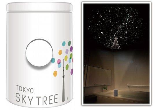 Home Planetarium shows the Tokyo Sky Tree among the stars