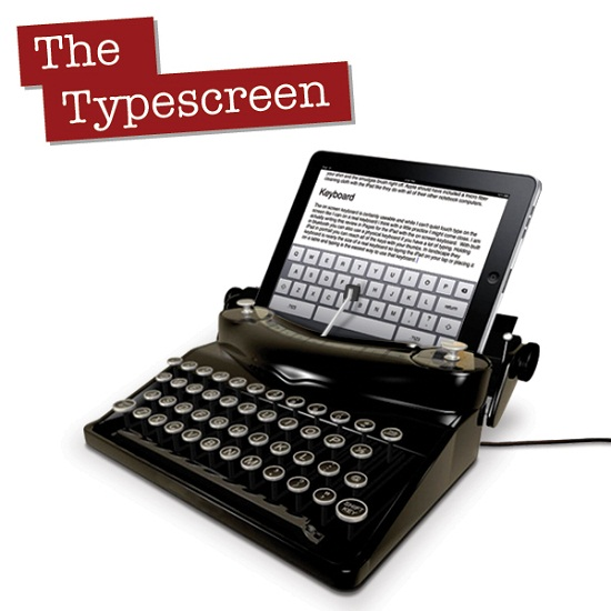 Typescreen turns your iPad into a typewriter