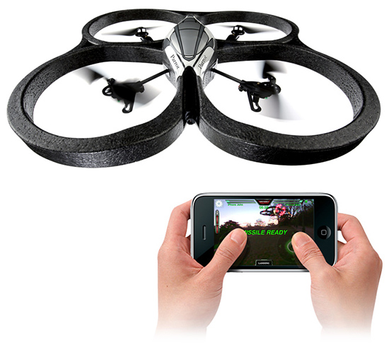 Parrot AR Drone is the ultimate flying toy