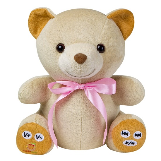 Cuddletunes Teddy Bear MP3 Player And Web Recorder