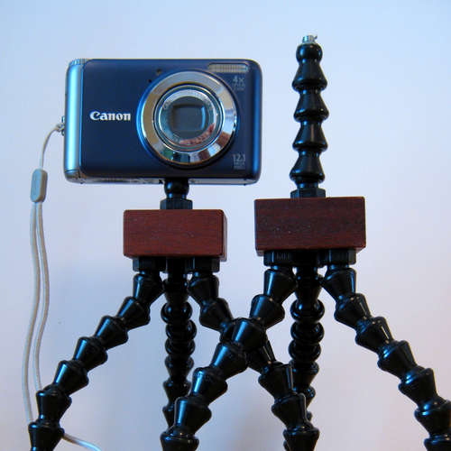 Build your own Gorilla Pod tripod