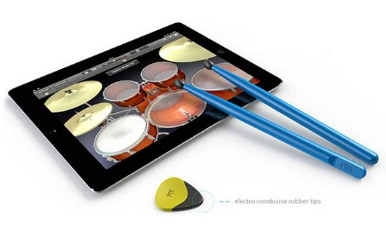 Pix & Stix let you rock out on your tablet