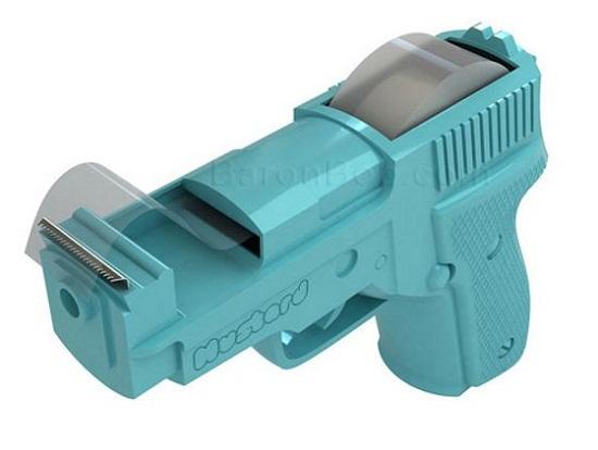 Tape Gun Dispenser livens up your boring desk
