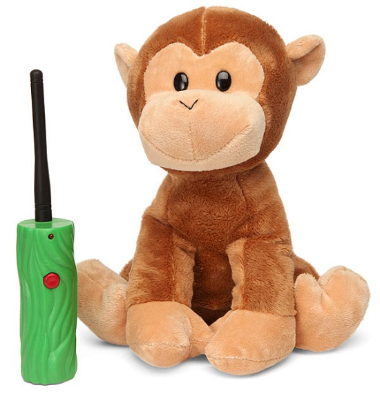 Hide & Seek Monkey keeps your wee ones entertained