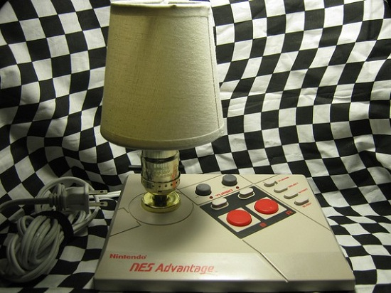 NES Advantage Lamp re-purposes that old joystick