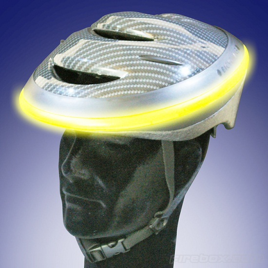 Angel Bicycle Helmet helps keep you safe at night