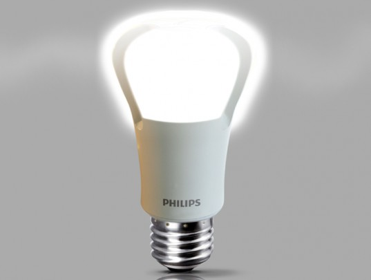 Philips unveils the world's first LED replacement for 75W incandescent bulbs