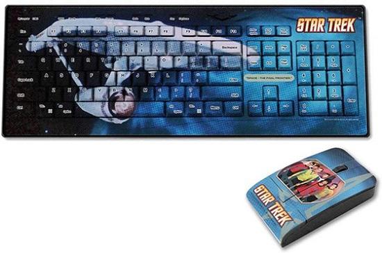 Star Trek �Crew� Keyboard Mouse Set