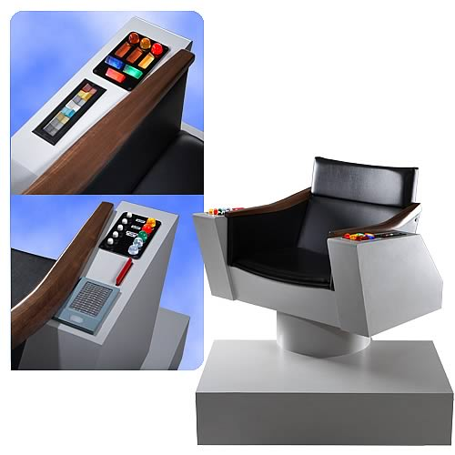 Star Trek Original Series Captain�s Chair Replica