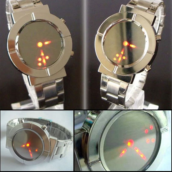 You're so vain, you probably think this Vanity Mirror Watch is for you