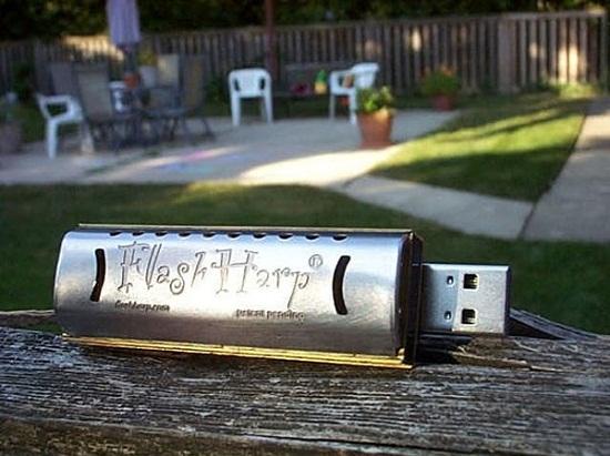 FlasHarp USB Harmonica