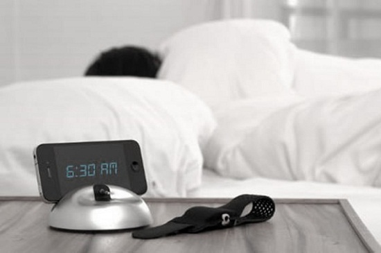Un-Alarm Clock silently wakes you up at the right time