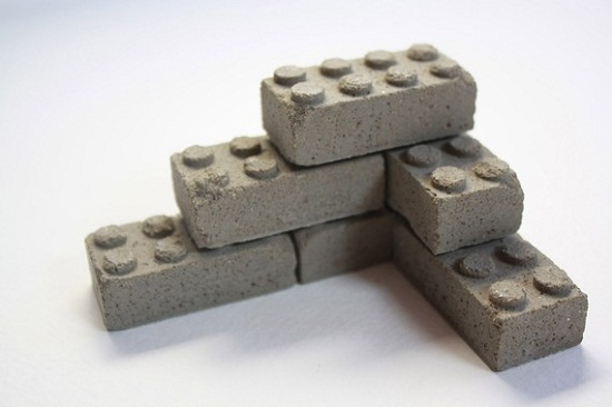 Concrete LEGOs are stronger than the real thing