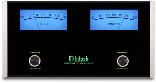 McIntosh Mantle Clock looks like an amp