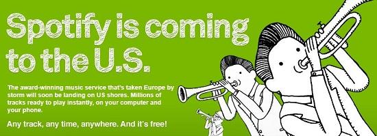 Spotify announces US service