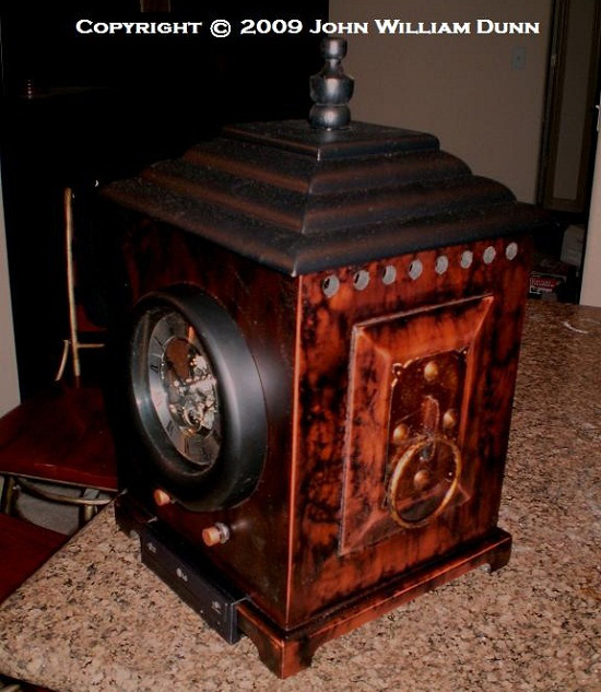 The Timekeeper Steampunk computer