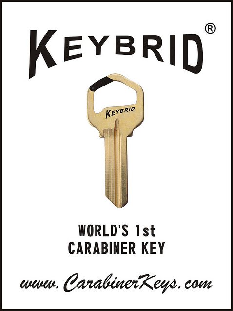 Carabiner Keys take the Keybrid to a new level