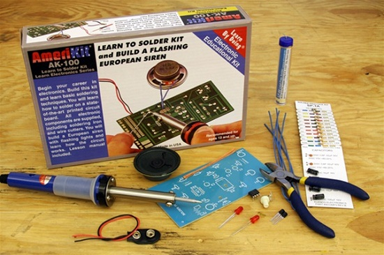 Learn to Solder Kit has everything you need to start working with electronics