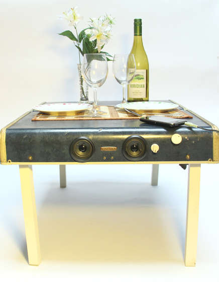 DIY Suitcase and Picnic Table Speaker System