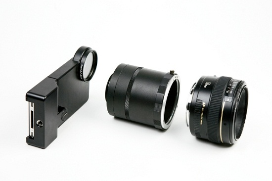 iPhone SLR Mount turns your phone into an imitation DSLR