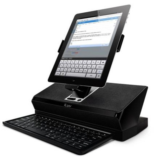 iLuv Workstations try to disguise your iPad as a PC