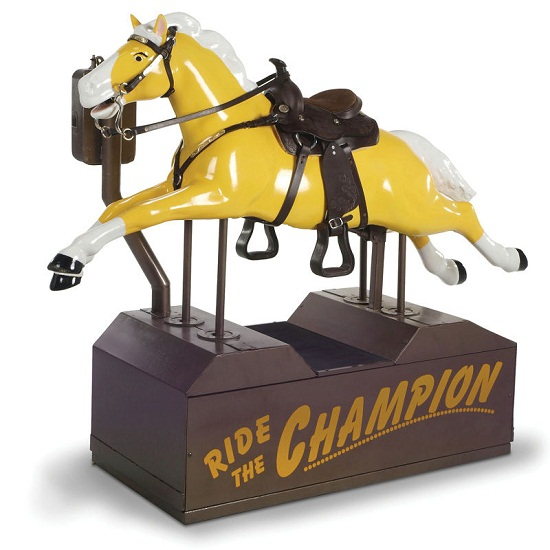 Get your very own Champion pony ride