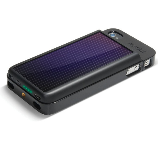 Mobius Solar iPhone Battery helps you on your path to be �green�