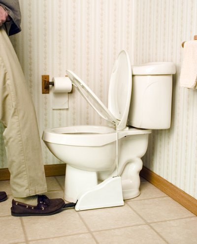 Toilet Seat Lifter puts an end to an age-old argument